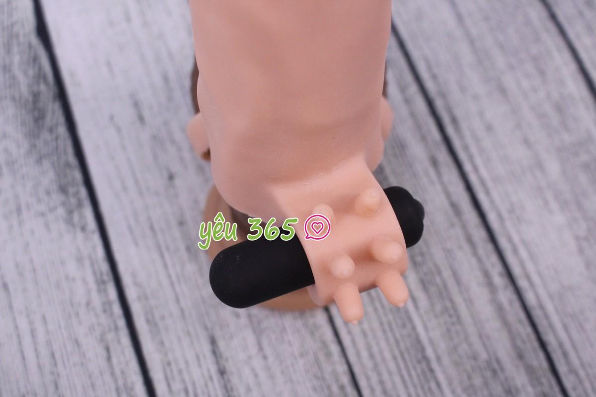 Bao cao su đôn dên có quai đeo Lovetoy X-tender BL600 6