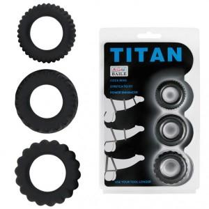 Bộ 3 Vòng đeo dương vật TiTan